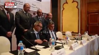 بالفيديو..  توقيع بروتوكول تعاون بين بنك مصر ومدينة أثاث دمياط