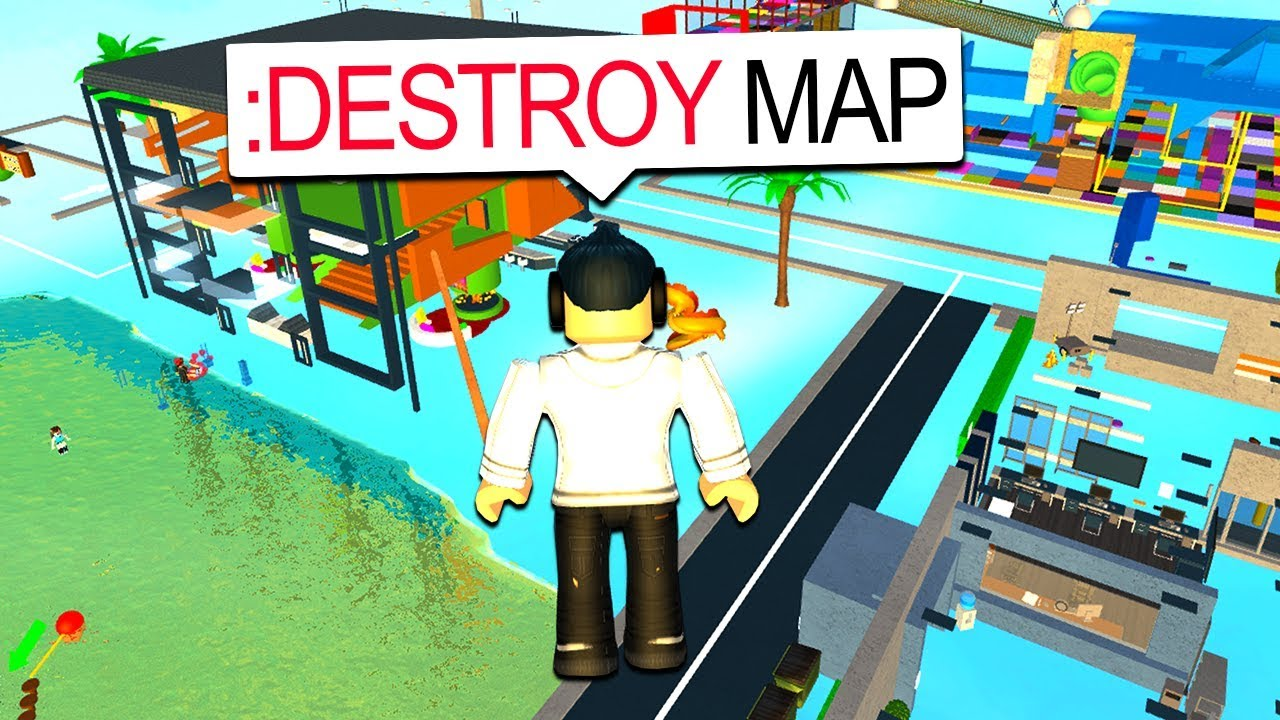 on destroy the map