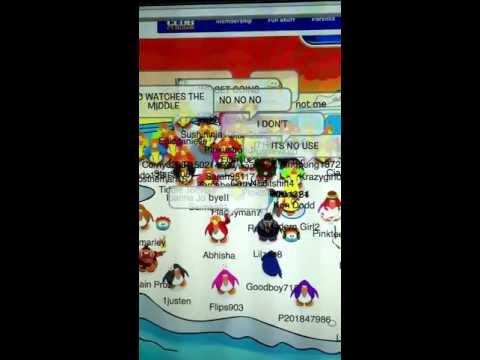 Big iceberg party (club penguin)