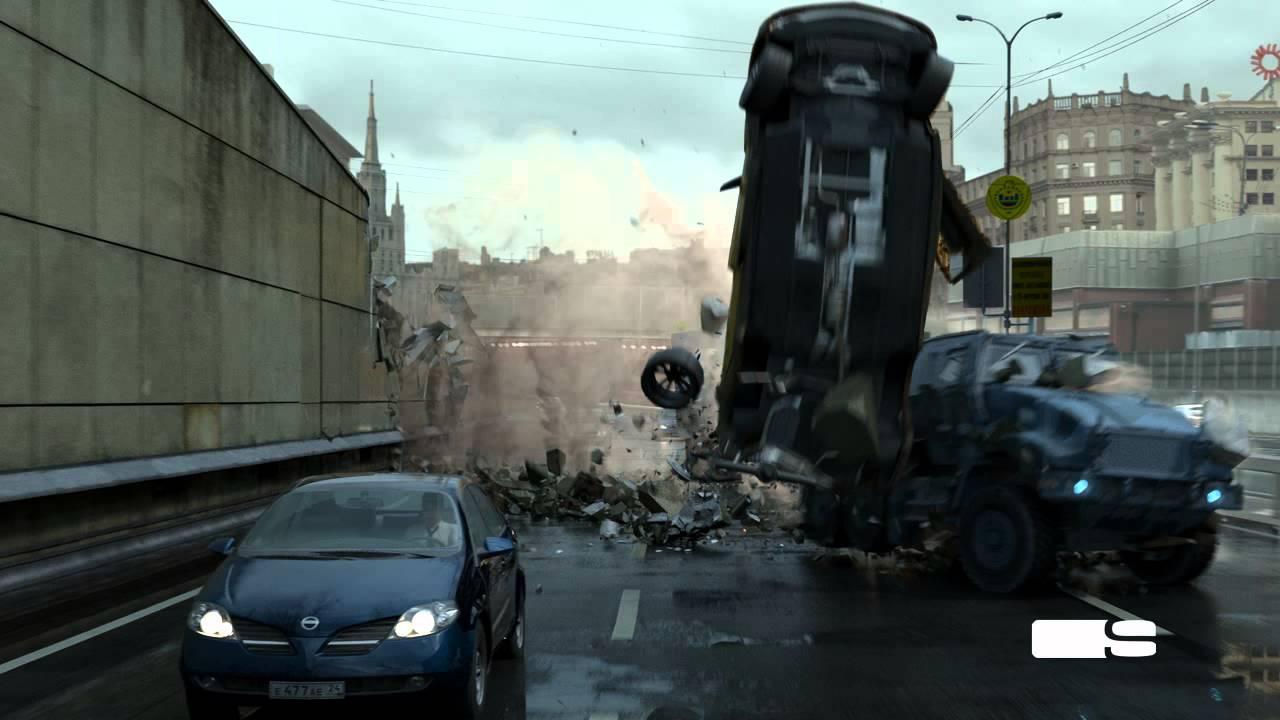 Download A Good Day To Die Hard - SSVFX Taxi Flip Demo VFX Breakdown