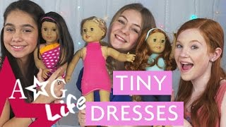 Easy DIY Doll Dresses! + Tiny Doughnuts! | AG Life | Episode 79