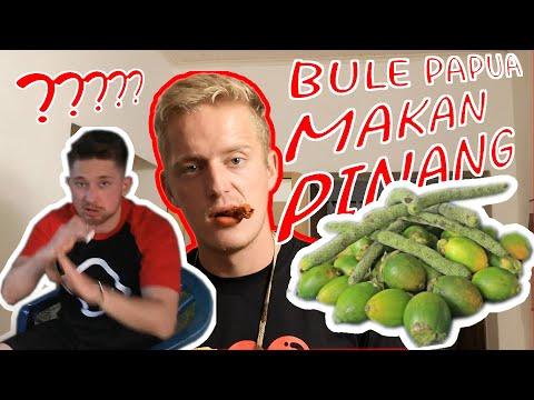 Jan ajarkan Ben cara makan PINANG!! Pinang diexpor dari Papua ke JERMAN #CaraMakanPinang