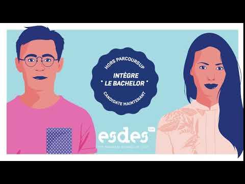 ESDES - Intègre le Bachelor à la rentrée ! #Postbac #BusinessSchool