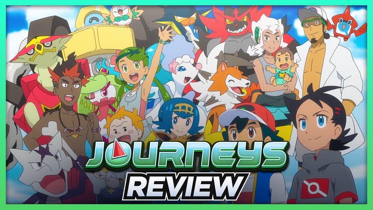 ASH RETURNS TO ALOLA!   Pokémon Journeys Episode 37 Review