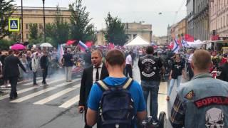 МОТОПРОБЕГ старинных мотоциклов - фествиаль МОТОСТОЛИЦА 2017