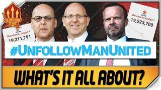 UnfollowManUnited Will  T Work Man Utd News