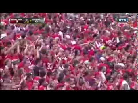 Bradley Roby Amazing Interception on the sidelines-Ohio State Football