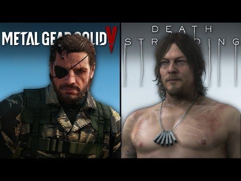 Death Stranding Vs Metal Gear Solid V | Direct Comparison
