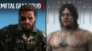 Death Stranding vs Metal Gear Solid V | Direct Comparison