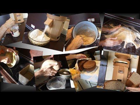 Бездрожжевой хлеб на закваске. Самый понятный и подробный рецепт.