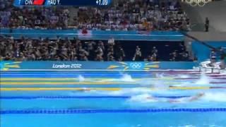 孙杨奥运会400M自由泳
