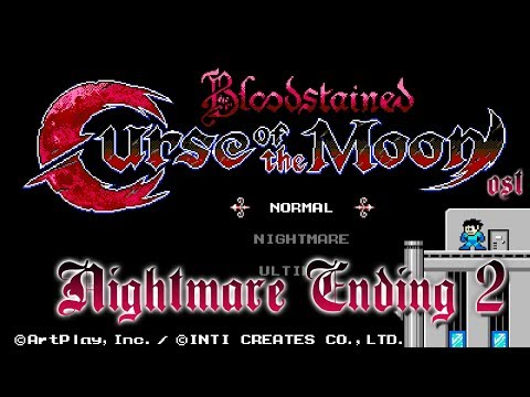 Bloodstained: Curse of the Moon OST - Nightmare Ending 2/Afterlife (The End?...)