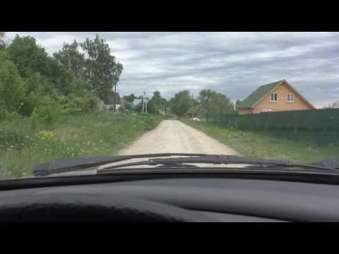 Едем на заказ через соседнее село Ильинка в Казинку..