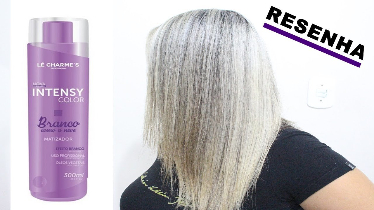 8e693434a RESENHA MATIZADOR INTENSY COLOR BRANCO COMO A NEVE - YouTube