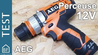 Test Outillage : Perceuse compacte AEG 12V BBS 12C2