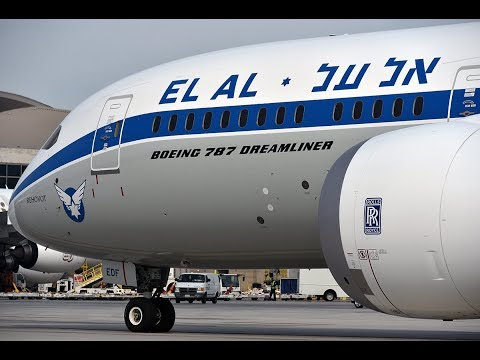 EL AL Airlines 'REHOVOT' Boeing 787-9 [4X-EDF] at LAX