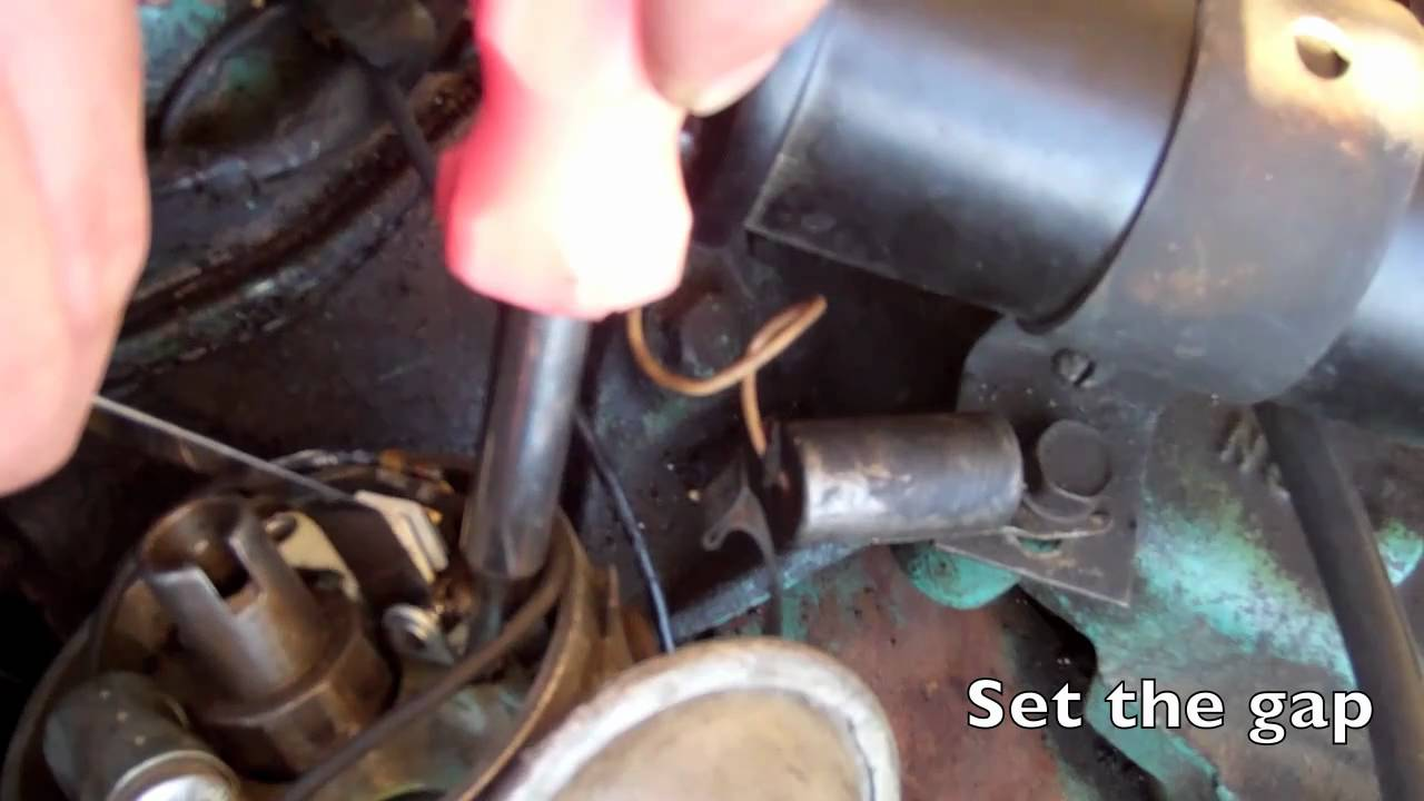Chrysler Ignition breaker points  YouTube