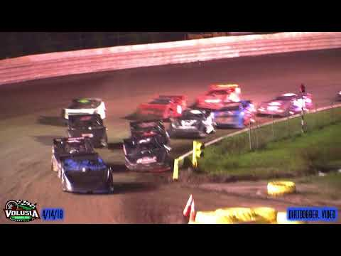 Volusia Speedway Park Late Models 4/14/18