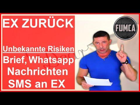 Ex zurück: Brief, Mail, SMS, Onlinevorlagen etc an Ex - Erfahrungen, Vor - oder nach Kontaktsperre