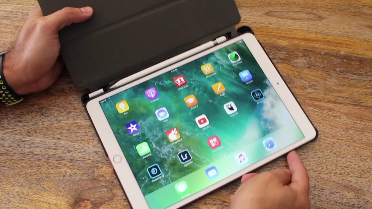 timeless design 12b2d b8947 Fintie Slimshell Case Review for 2017 iPad Pro 10.5