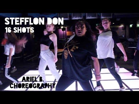 STEFFLON DON - 16 SHOTS | Ariel B. | Choreography