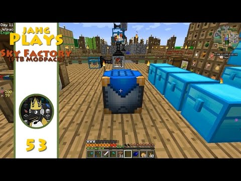 jahg Plays Sky Factory - 053 - The Machinist's Workbench