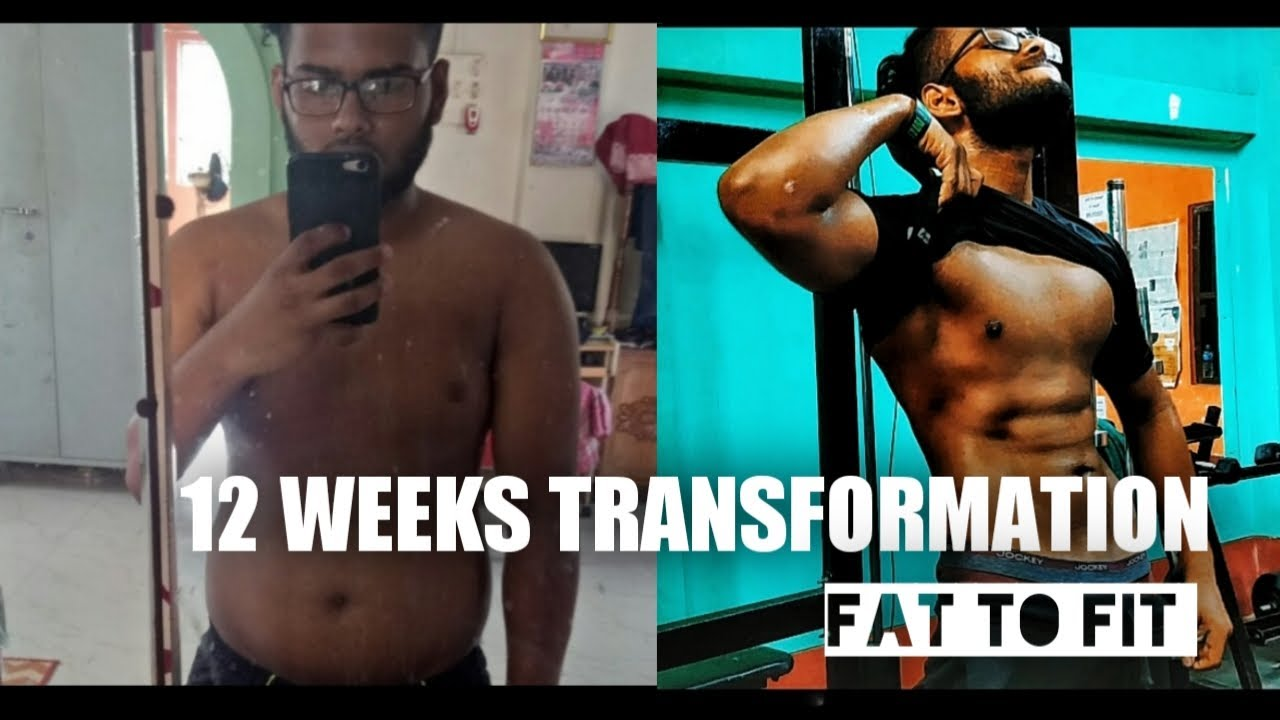 12 WEEKS UNBELIEVABLE NATURAL BODY TRANSFORMATION ||FAT TO