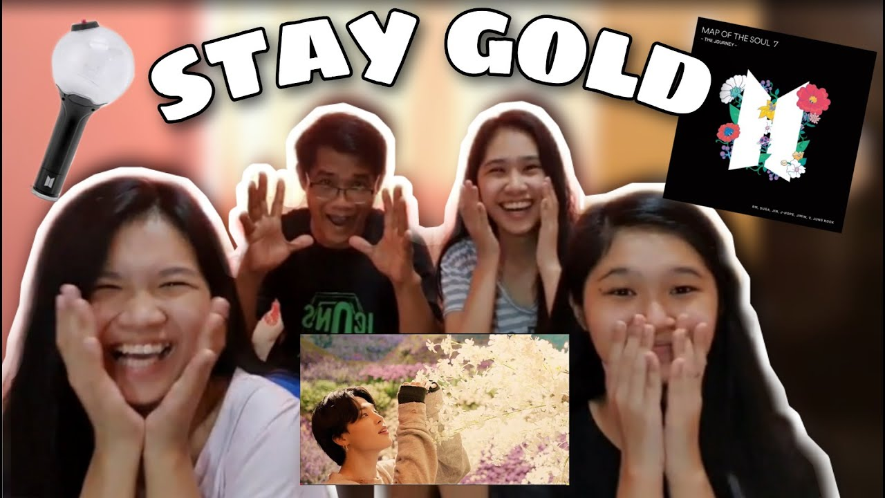 BTS (방탄소년단) - STAY GOLD M/V (Reaction Video)