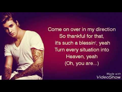 despicito feat Justin bieber (lyrics on screen)