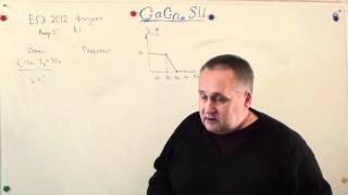 Физика ЕГЭ 2012 А1 : Равноускоренное движение
