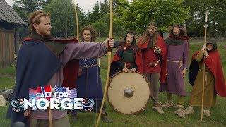 vuclip The contestants travel back in time | Deltakerne reiser tilbake til vikingtiden | Alt for Norge
