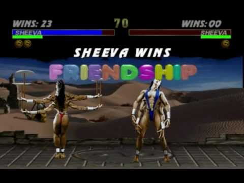 Ultimate Mortal Kombat 3: Fatality Demonstration [HD]