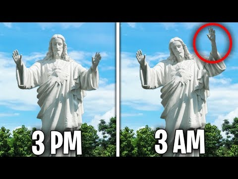 Top 5 Scary Statues CAUGHT MOVING ON CAMERA!