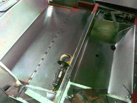 dkw f8 handmade metal shaping