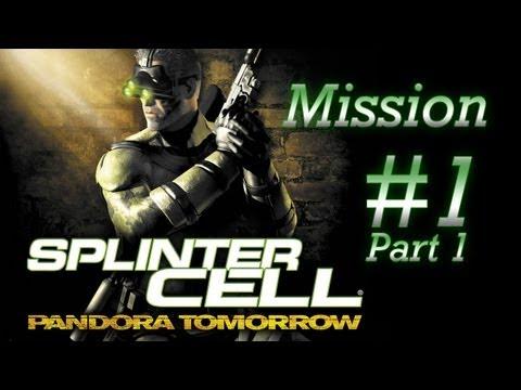[PC/HD] Splinter Cell: Pandora Tomorrow - Mission 1 - Oili, Timor [Part 1/2]