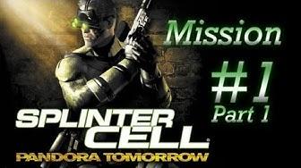 [PC/HD] Splinter Cell: Pandora Tomorrow - Mission 1 - Dili, Timor [Part 1/2]