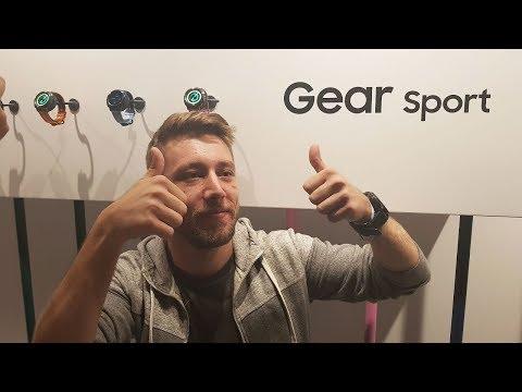 Samsung Gear Sport ön inceleme