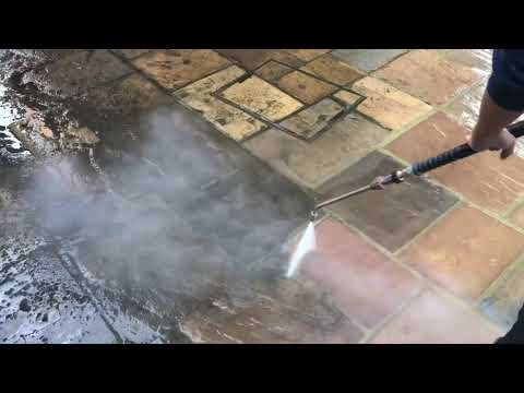 Sandstone Patio steam cleaning Highgate London N6