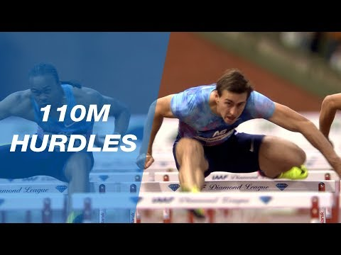 Sergey Shubenkov 13.14 Wins The Men's 110m Hurdles - IAAF Diamond League Brussels 2017