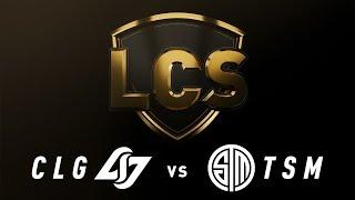 CLG vs. TSM - Week 5 Day 1   LCS Spring Split   Counter Logic Gaming vs. TSM (2019)