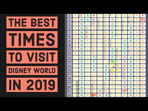 Shelley Wade - Best Times To Go To Disney World in 2019