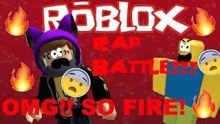 THE MOST EPIC RAP BATTLE OF ROBLOX!!! OMG SO LIT!!! 🔥 🔥 🔥