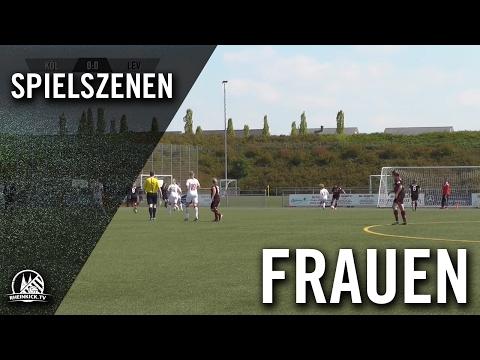 1. FC Köln II - Bayer 04 Leverkusen II (Frauen-Regionalliga West) - Spielszenen   RHEINKICK.TV