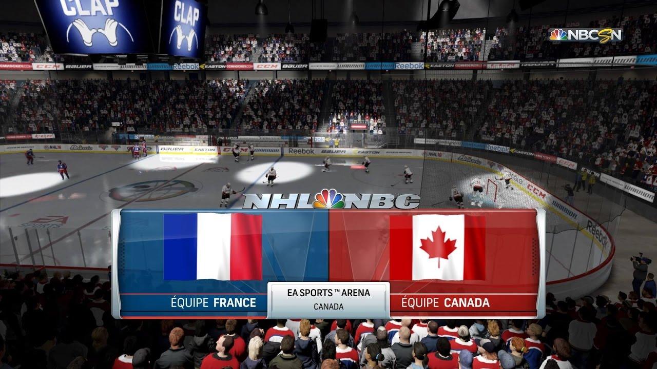 france vs canada championnat du monde hockey sur glace 2017 youtube. Black Bedroom Furniture Sets. Home Design Ideas