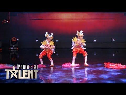 Thar Toe Amhwar Moe Phyo: Semi-Final 5 | Myanmar's Got Talent 2018
