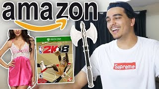 I Bought EVERYTHING Amazon Recommended To Me!