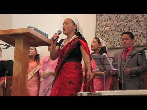 Nepali Christian Song  Yeshu Ko Chhatima  Cover By Rohi Rva Couples