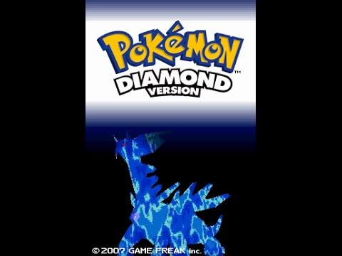 Pokémon Diamond (NDS) - Longplay Part 1/2
