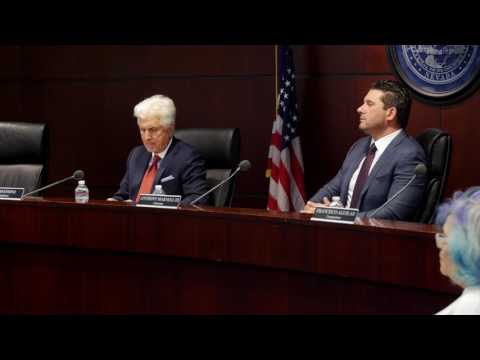 Nevada State Athletic Commission hearings on Conor McGregor punishment - full session
