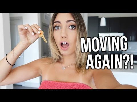I'M MOVING AGAIN?! Touring Apartments!!